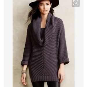 NWT Anthropologie Moth Tocas Cowl Neck Sweater